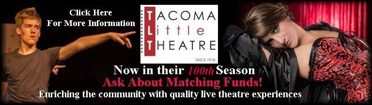 Tacoma Little Theatre Celebrating their 99th Year of Theatre Productions - Image